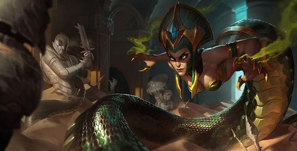 2021《LOL》无限火力蛇女玩法介绍