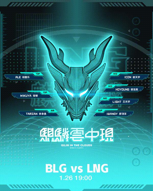 《【煜星娱乐公司】LPL春季赛1月26日战队赛前海报一览》