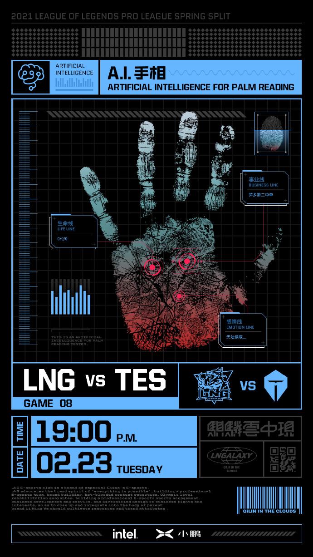 《【天游注册链接】LPL春季赛2月23日战队赛前海报一览》